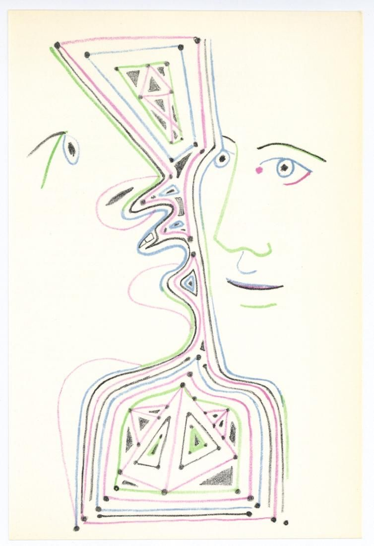 Jean Cocteau original lithograph