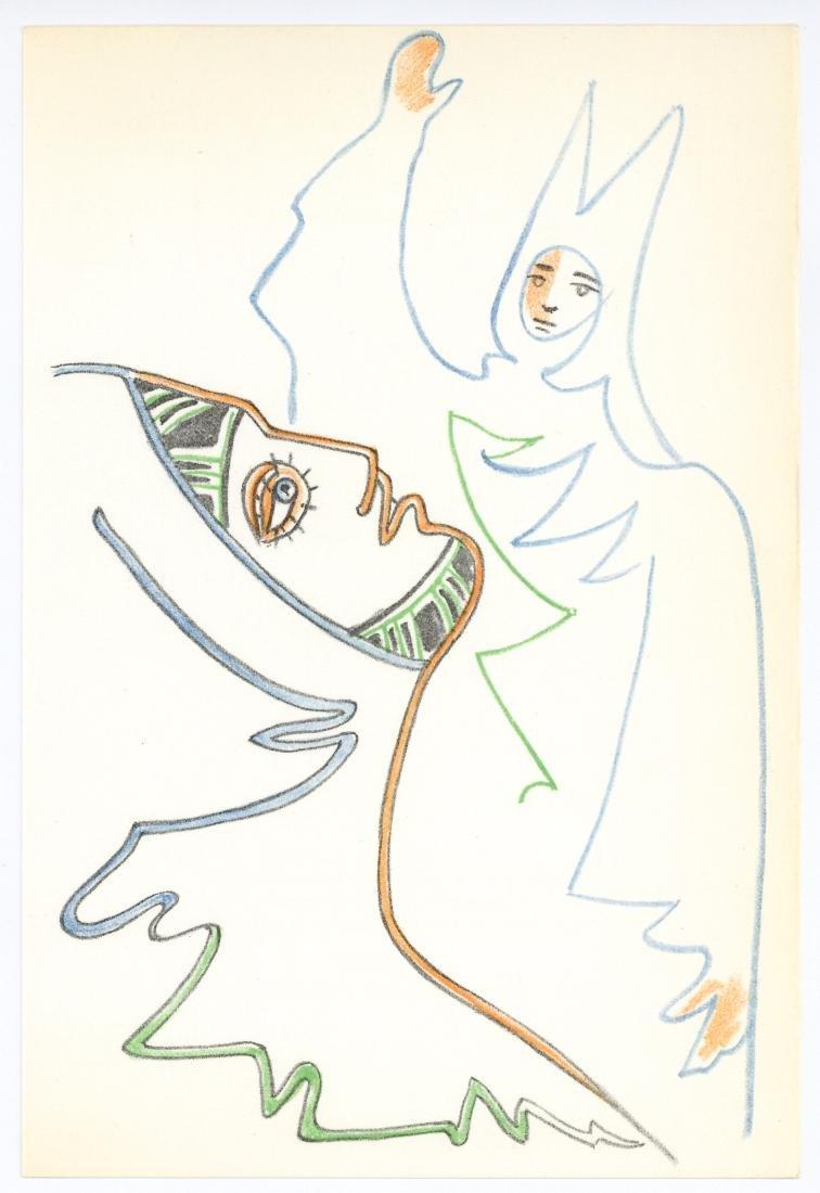 Jean Cocteau original lithograph | Renaud et Armide