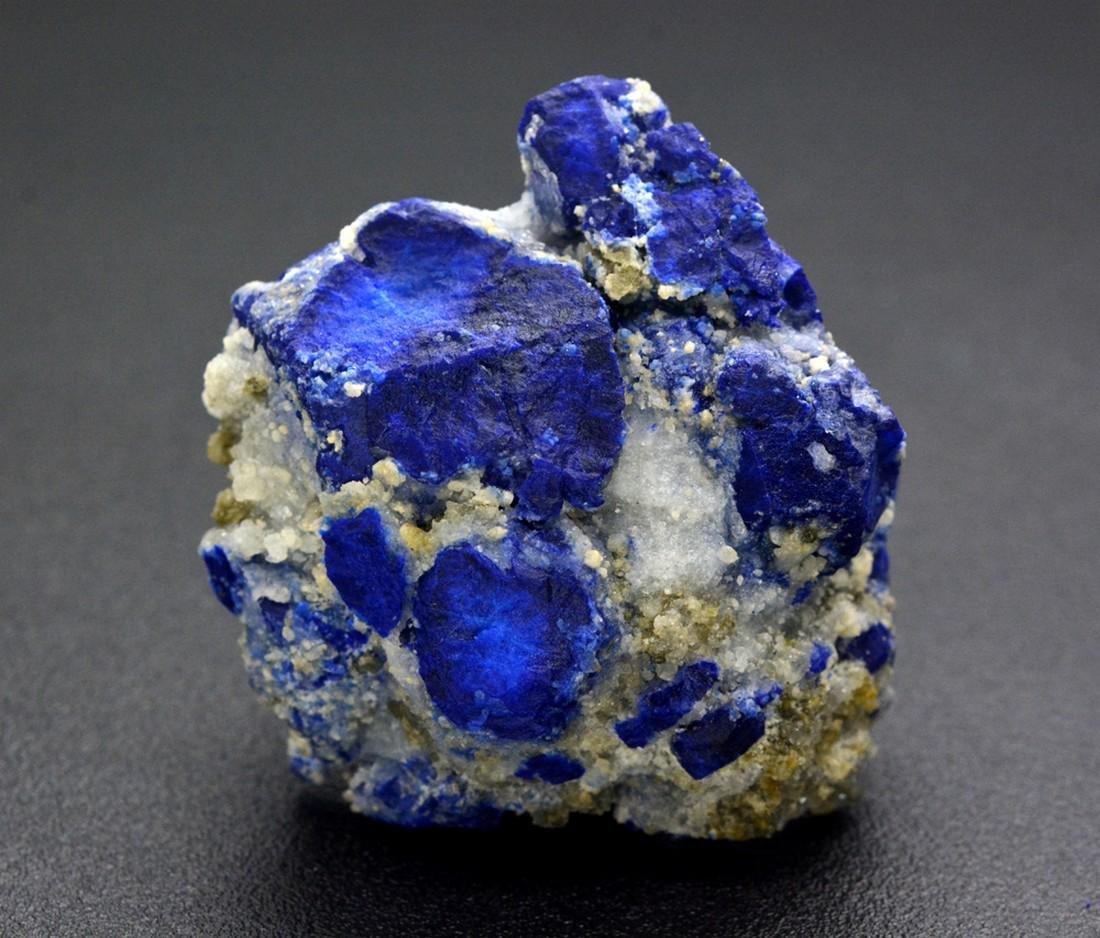 111 Gram Beautiful Lazurite With Calcite Specimen
