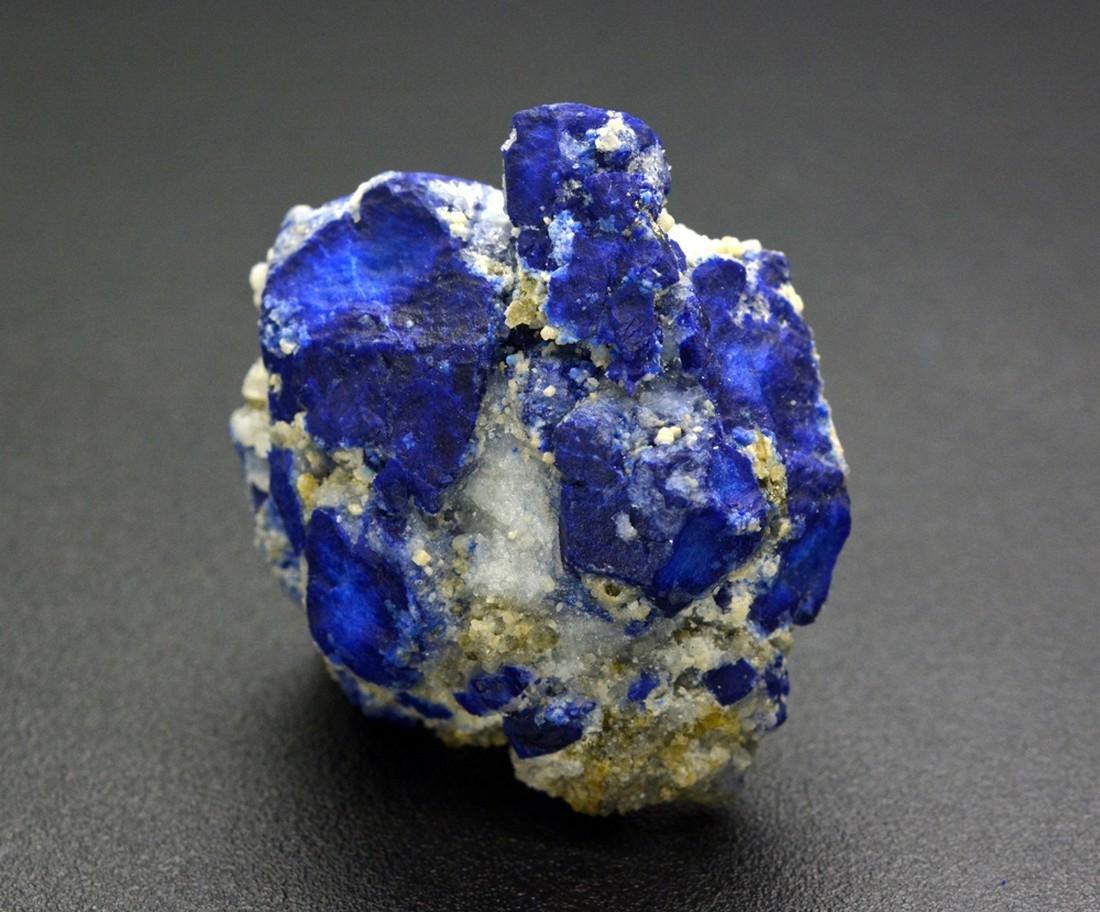 111 Gram Beautiful Lazurite With Calcite Specimen - 3