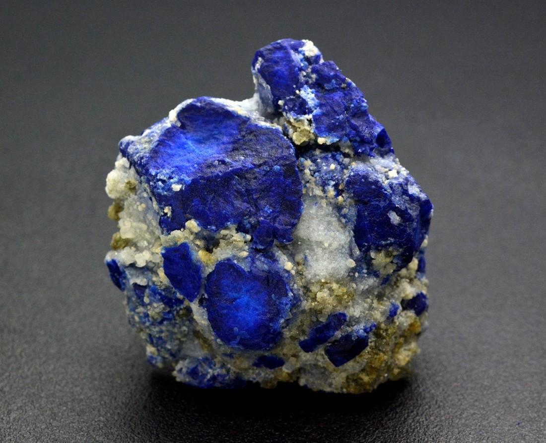 111 Gram Beautiful Lazurite With Calcite Specimen - 4
