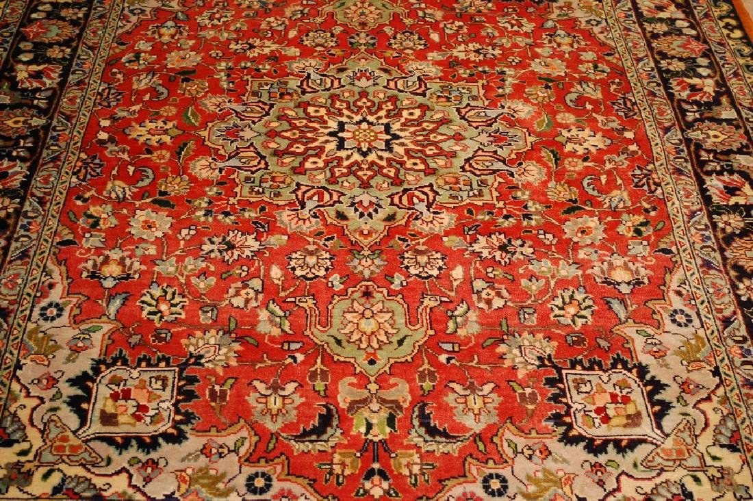 HIGHLY DETAILED PERSIAN TABRIZ RUG 5.7x7.9 MUST SEE TO - 10