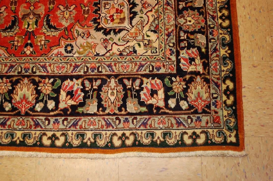 HIGHLY DETAILED PERSIAN TABRIZ RUG 5.7x7.9 MUST SEE TO - 2
