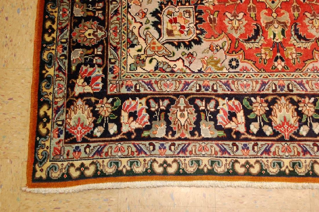 HIGHLY DETAILED PERSIAN TABRIZ RUG 5.7x7.9 MUST SEE TO - 3