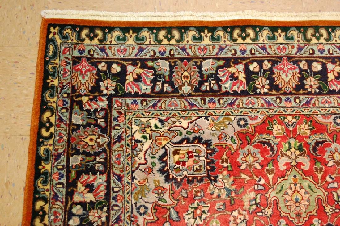 HIGHLY DETAILED PERSIAN TABRIZ RUG 5.7x7.9 MUST SEE TO - 4