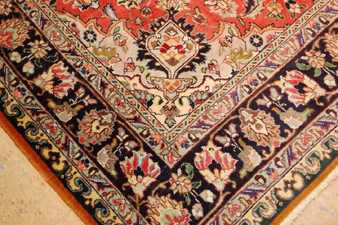 HIGHLY DETAILED PERSIAN TABRIZ RUG 5.7x7.9 MUST SEE TO - 6