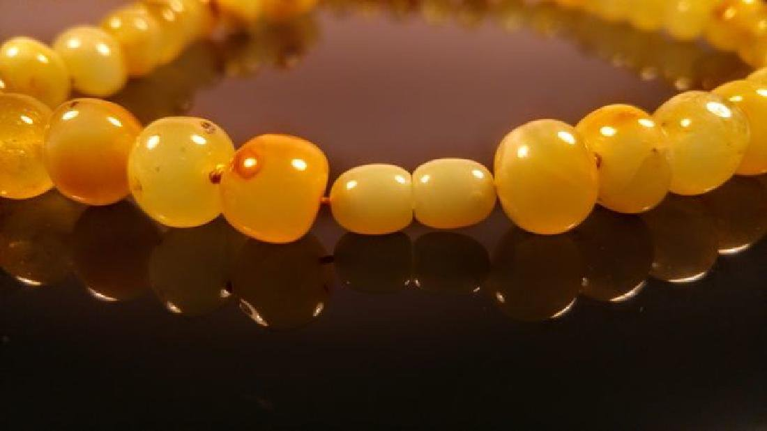 Baltic amber necklace, 100% Genuine - 10