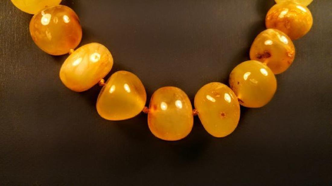 Baltic amber necklace, 100% Genuine - 4