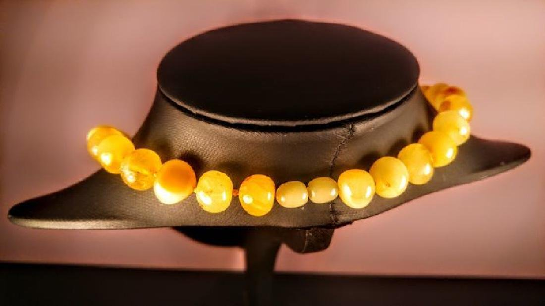Baltic amber necklace, 100% Genuine - 5
