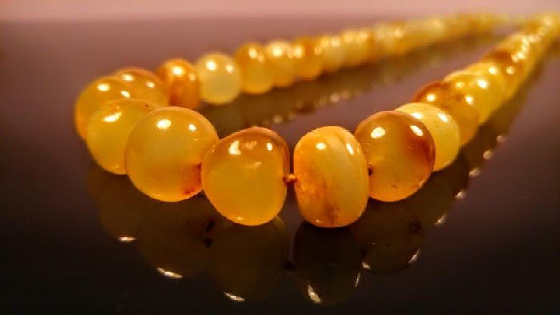 Baltic amber necklace, 100% Genuine - 7