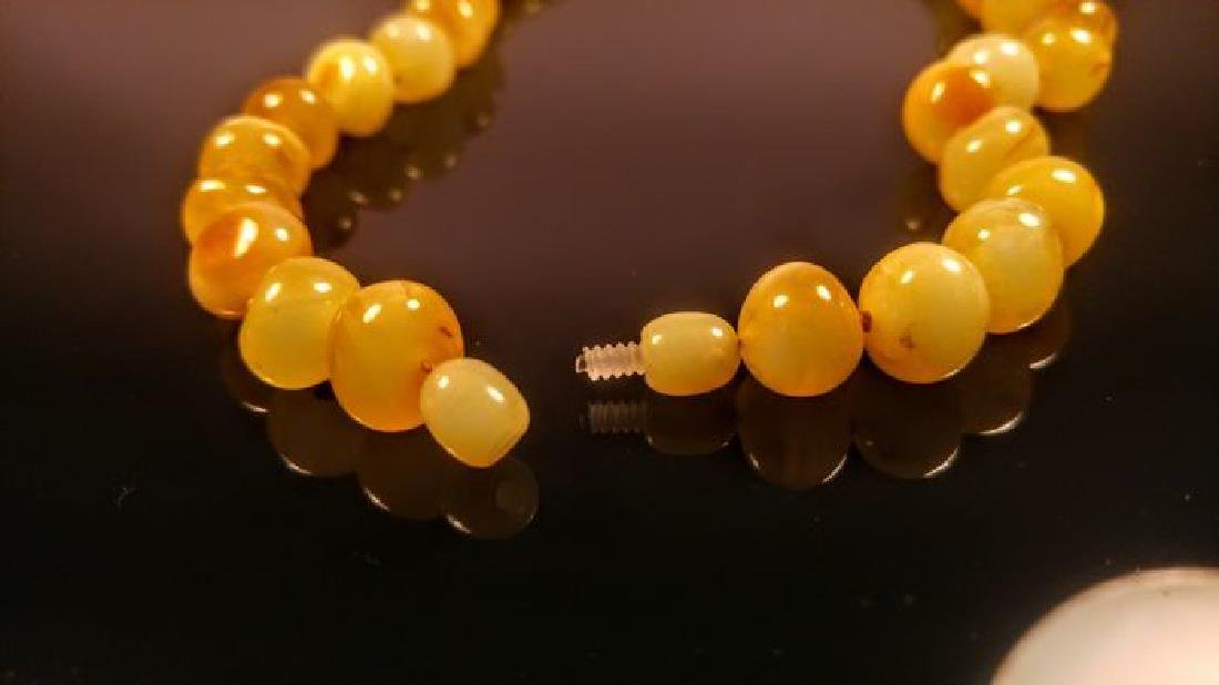 Baltic amber necklace, 100% Genuine - 9