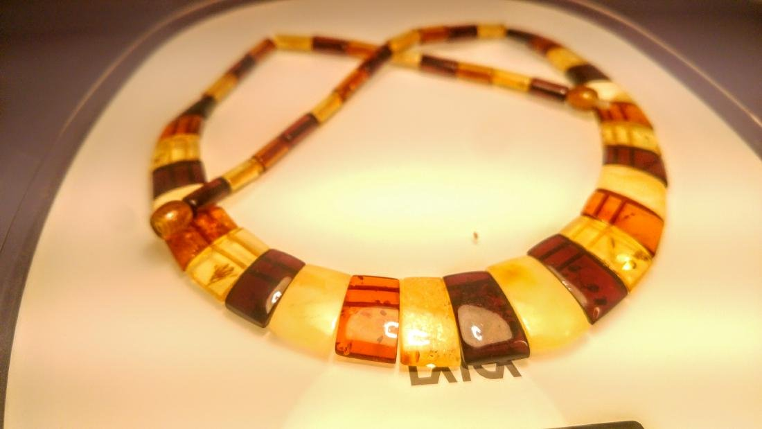 Baltic amber necklace, 100% Genuine