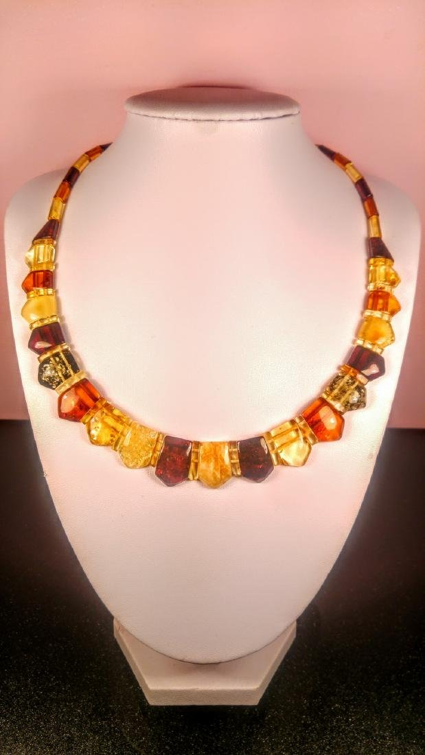 100% Genuine  Baltic amber necklace