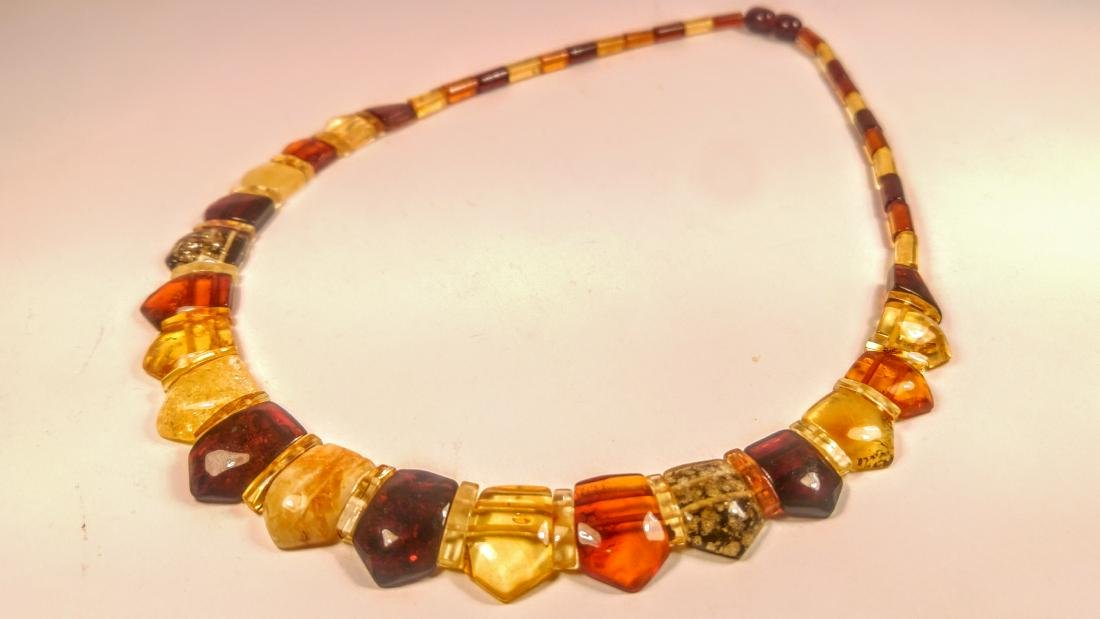 100% Genuine  Baltic amber necklace - 3