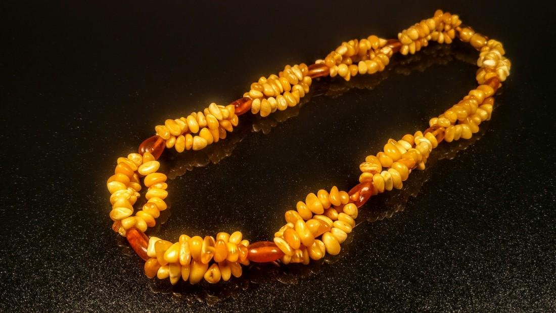 100% Genuine Baltic amber necklace - 8