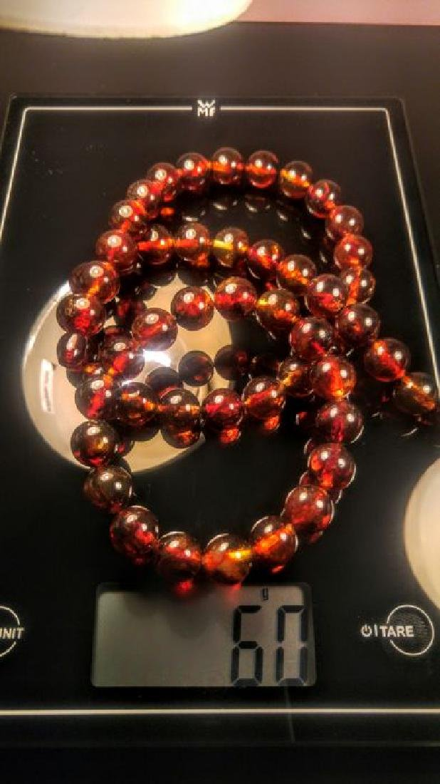Baltic amber necklace and bracelet - 3