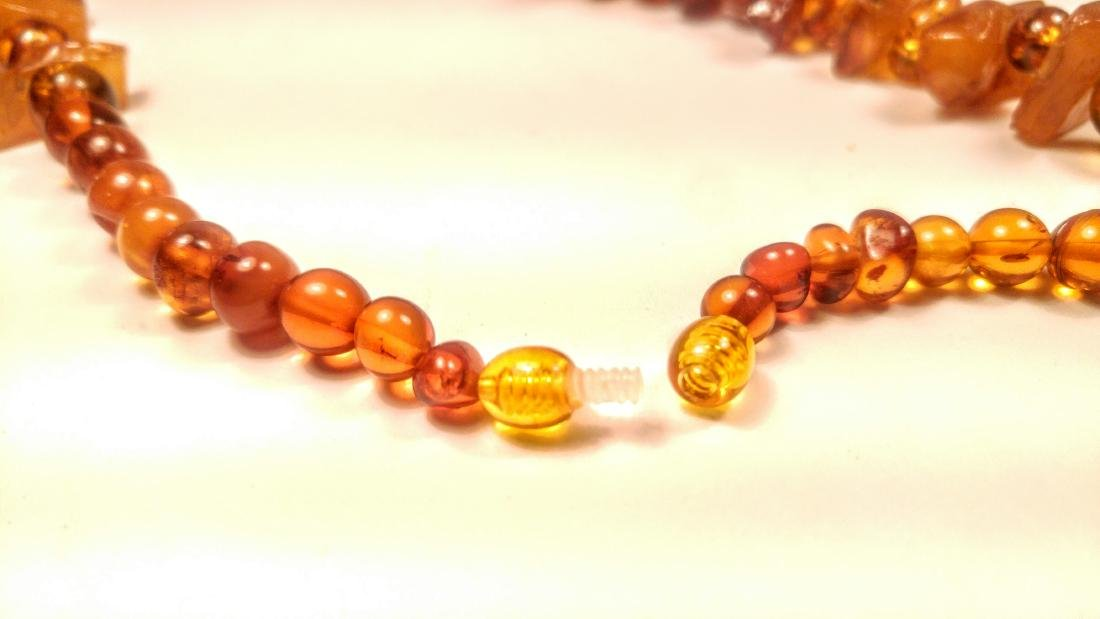 100% Genuine Baltic amber necklace - 6