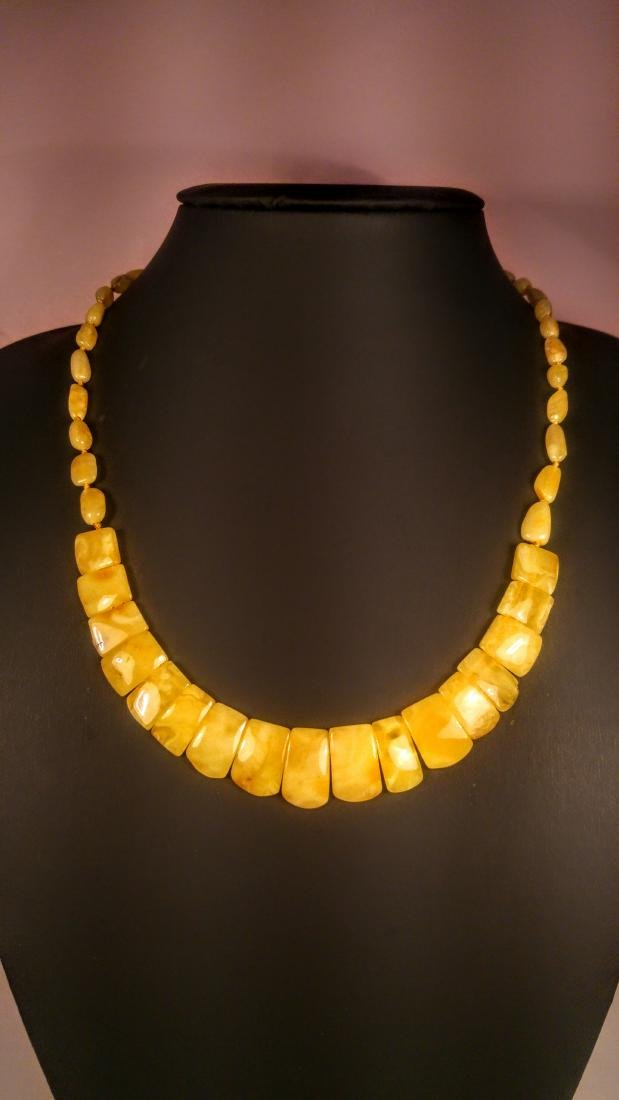 100% Genuine Royal Baltic amber necklace