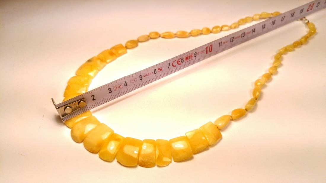 100% Genuine Royal Baltic amber necklace - 5