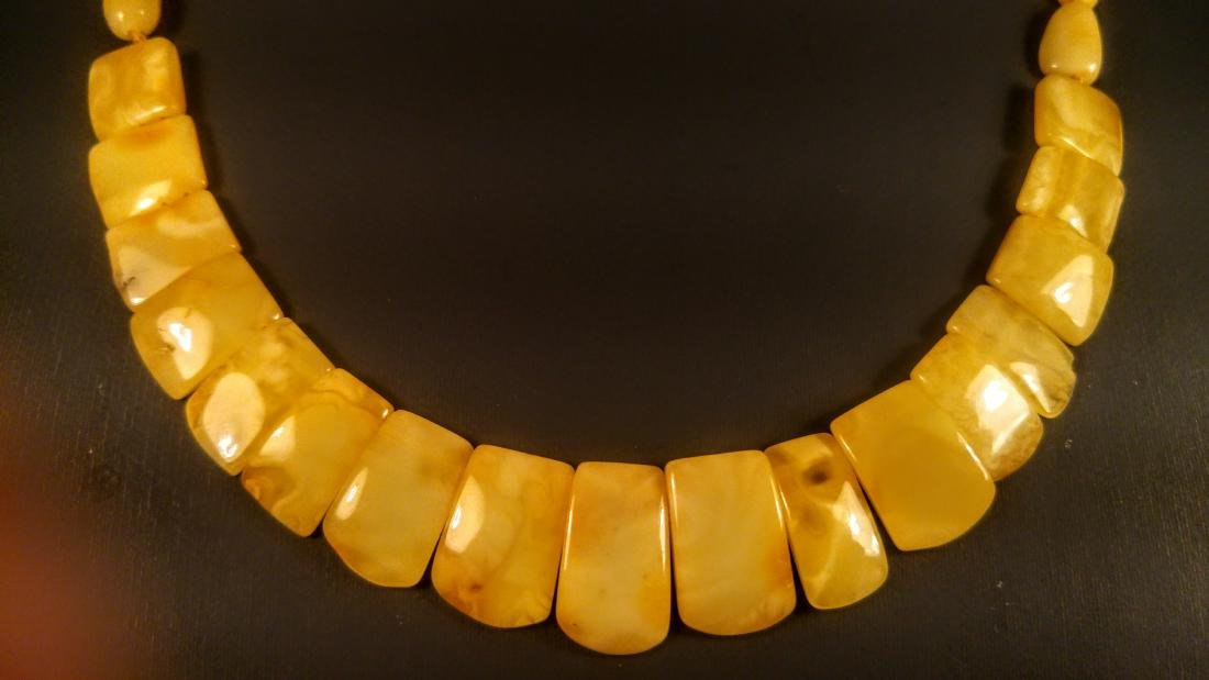 100% Genuine Royal Baltic amber necklace - 9