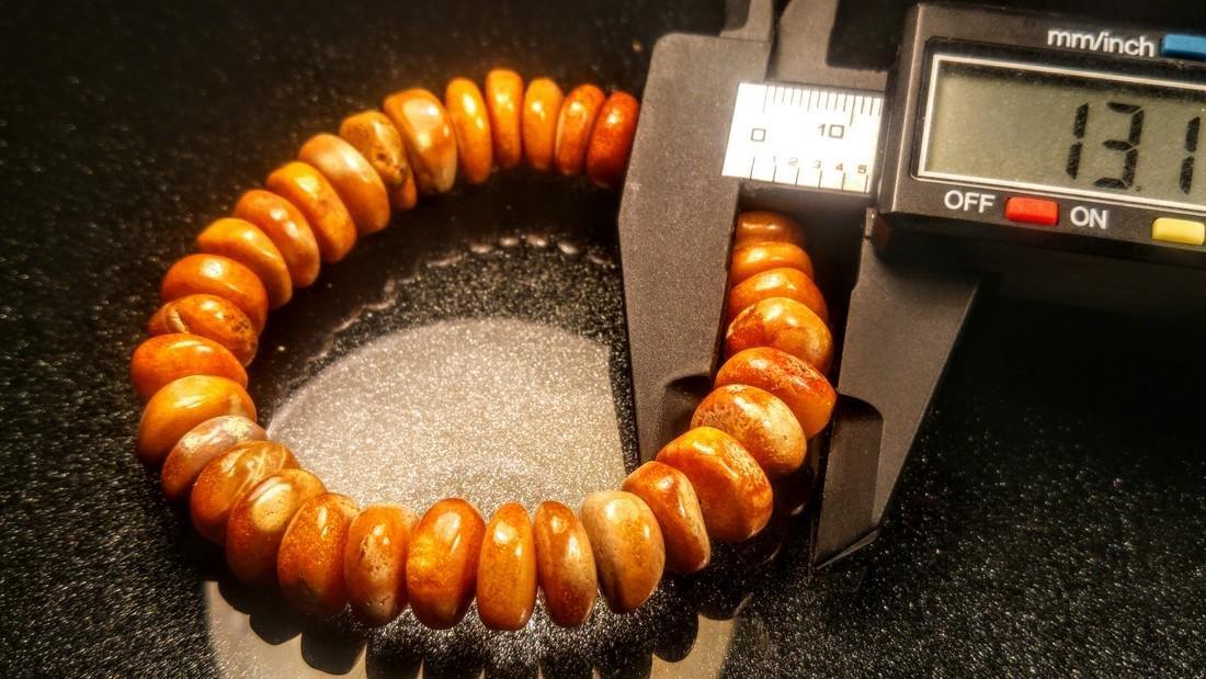 100% Genuine  Baltic amber bracelet - 7