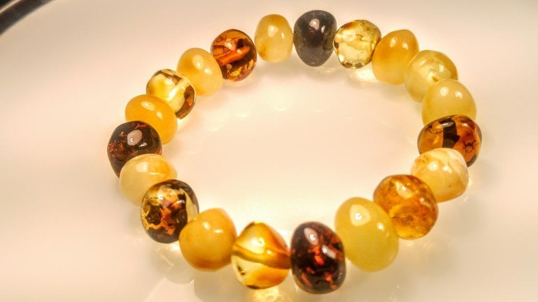 100% Genuine Baltic amber bracelet