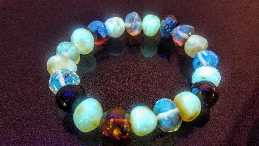 100% Genuine Baltic amber bracelet - 3