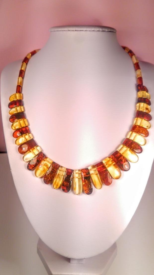 Set of bracelet and necklace, made of 100% genuine - 4