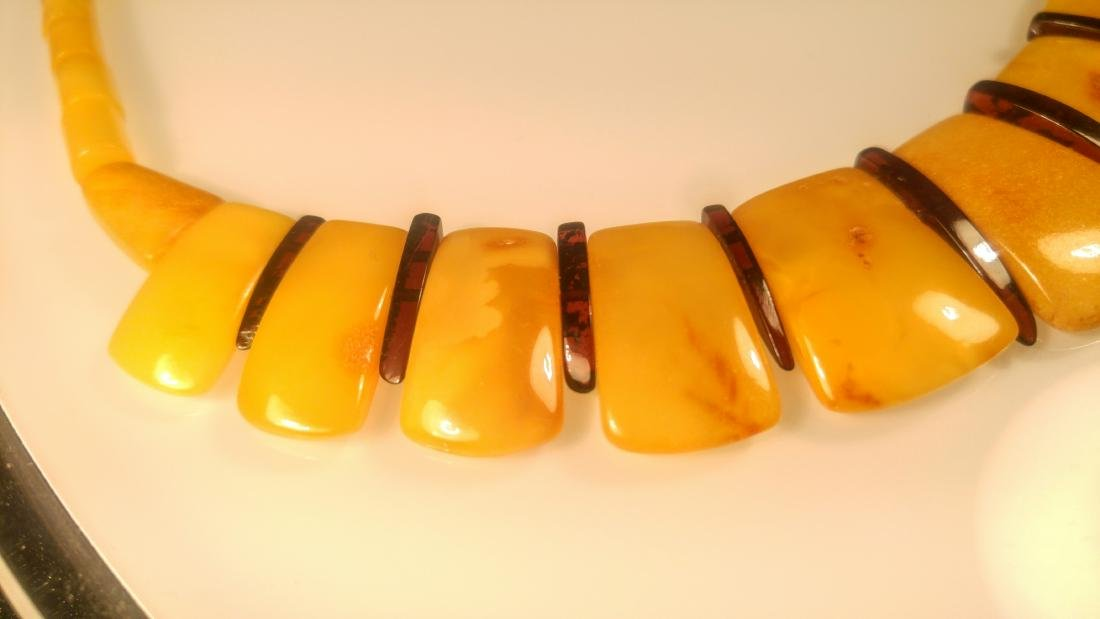 100% Genuine Baltic amber necklace - 4