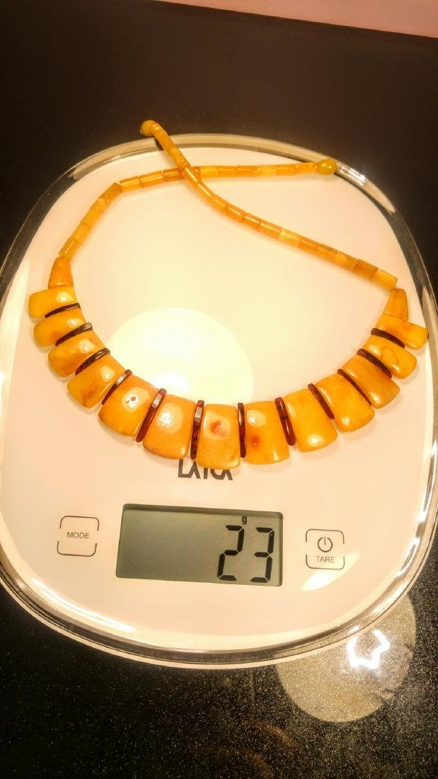 100% Genuine Baltic amber necklace - 5