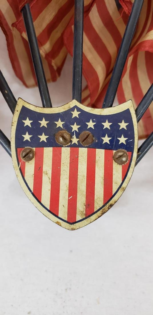 Bicycle flag holder ca 1920's - 2