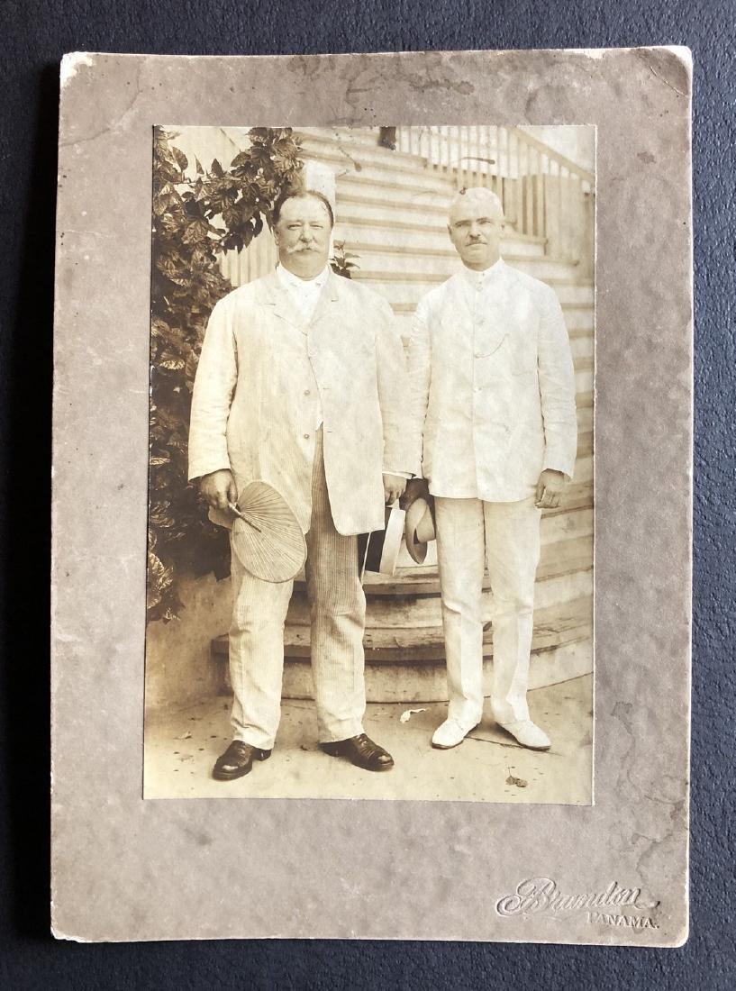 President Taft and Panama Canal Engineer Goethals