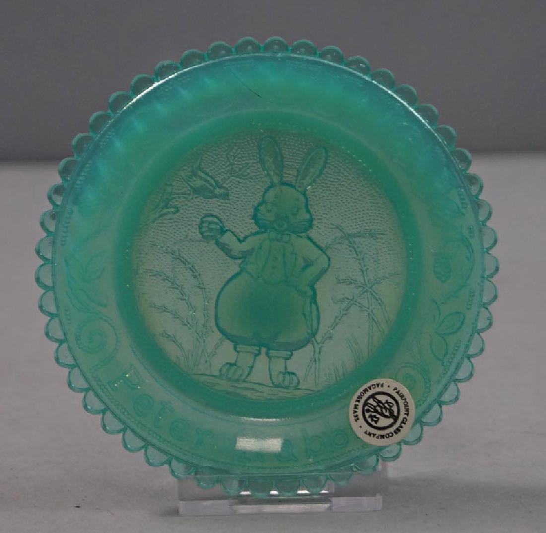 Peter Rabbit Pairpoint Cup Plate