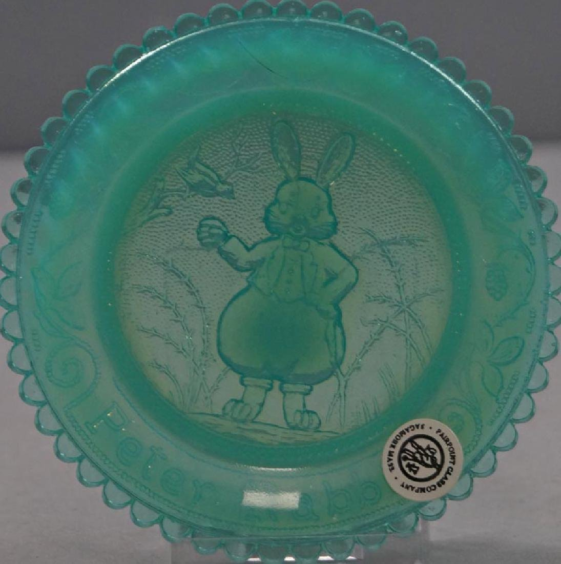 Peter Rabbit Pairpoint Cup Plate - 2