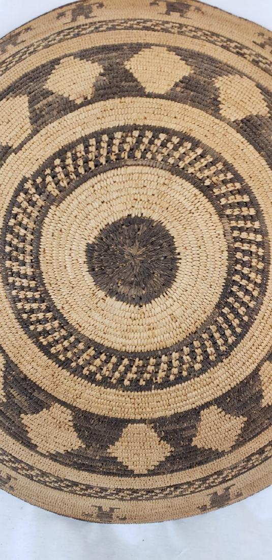 Exceptional large Apache figural basket ca 1900. - 5