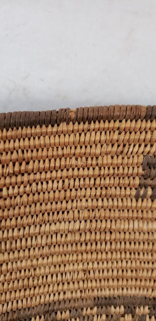 Exceptional large Apache figural basket ca 1900. - 6