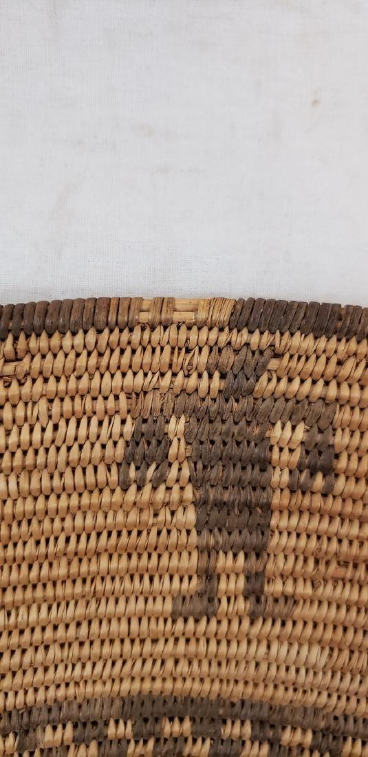 Exceptional large Apache figural basket ca 1900. - 7