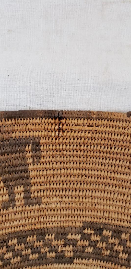 Exceptional large Apache figural basket ca 1900. - 8