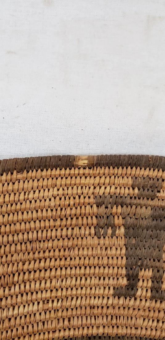 Exceptional large Apache figural basket ca 1900. - 9