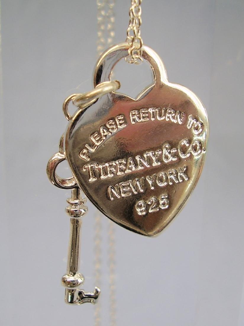 Tiffany Key Charm Pendant