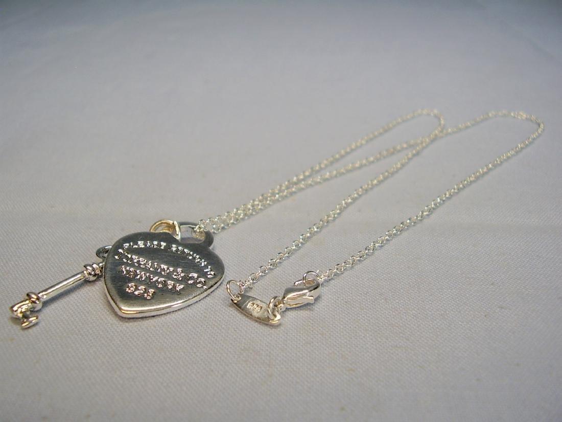 Tiffany Key Charm Pendant - 5