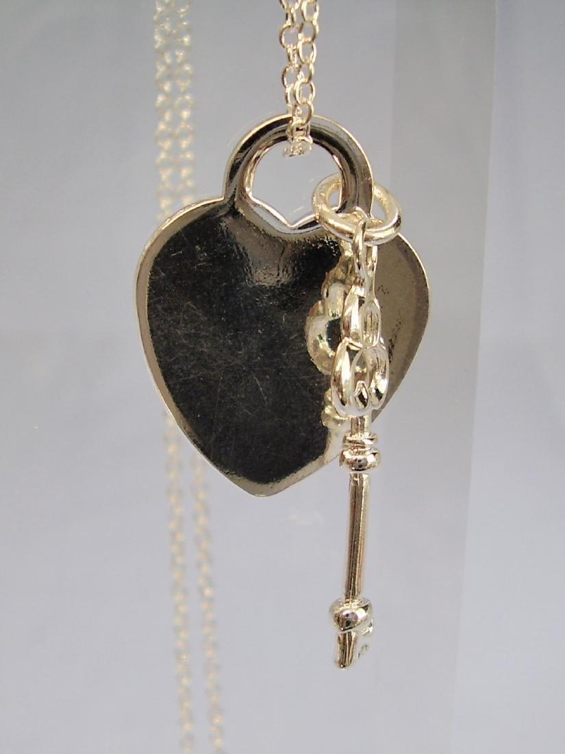 Tiffany Key Charm Pendant - 8