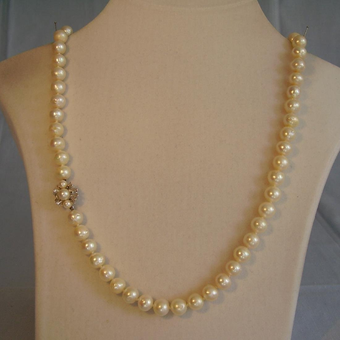 Great Akoya Pearl Necklace - 6