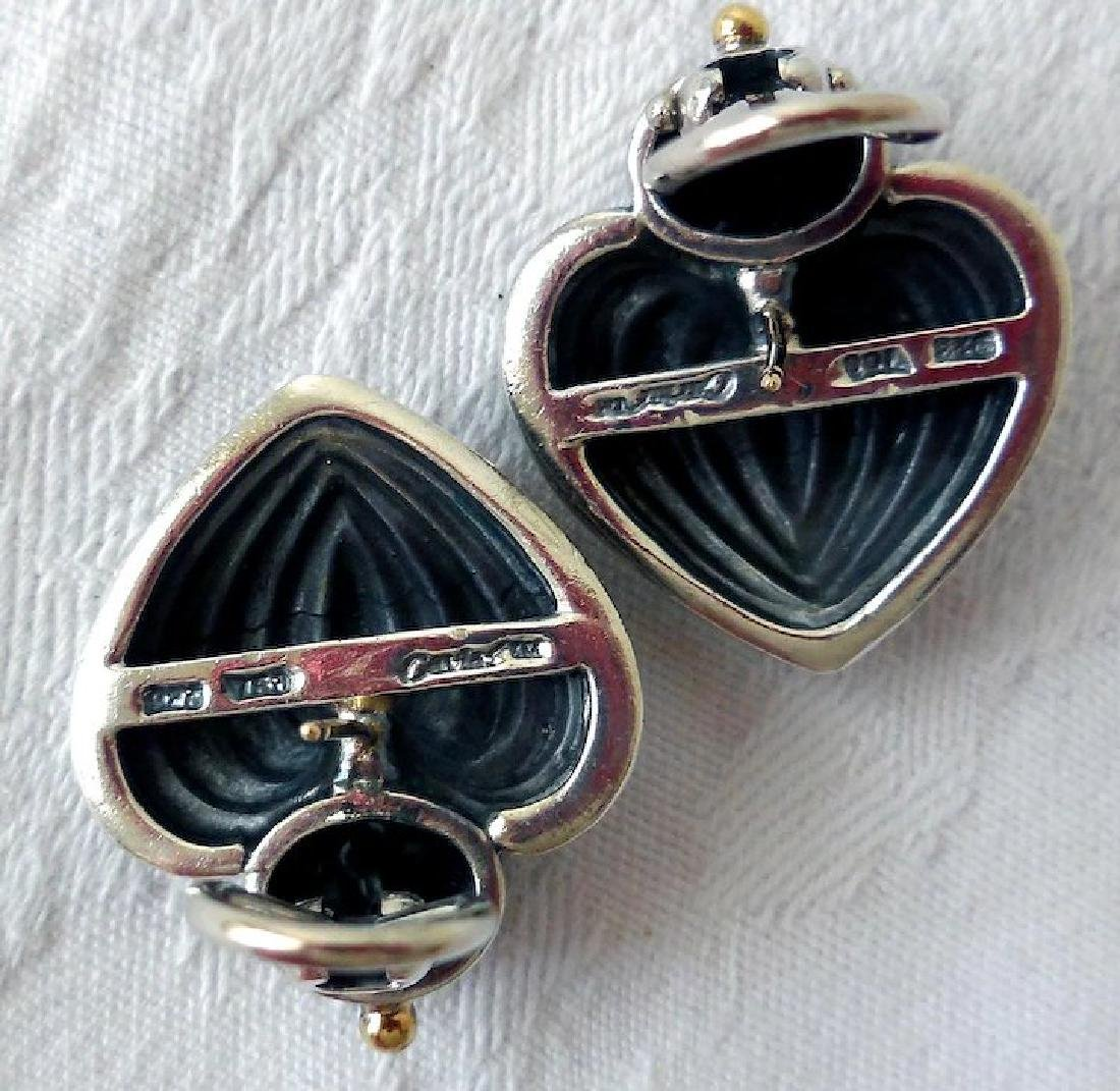 Vintage Lagos Caviar Earrings - 3
