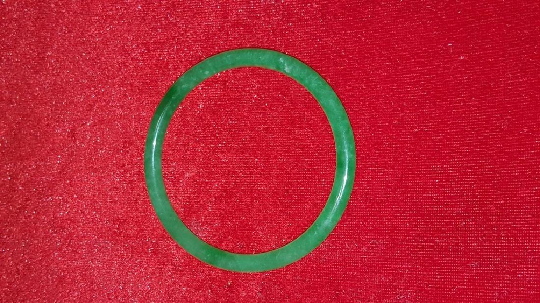 Green Jade Bangle