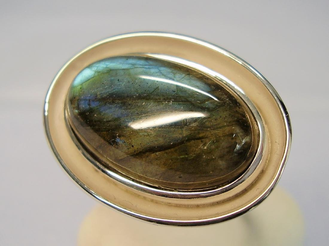 Silver Ring with Labradorit - 2