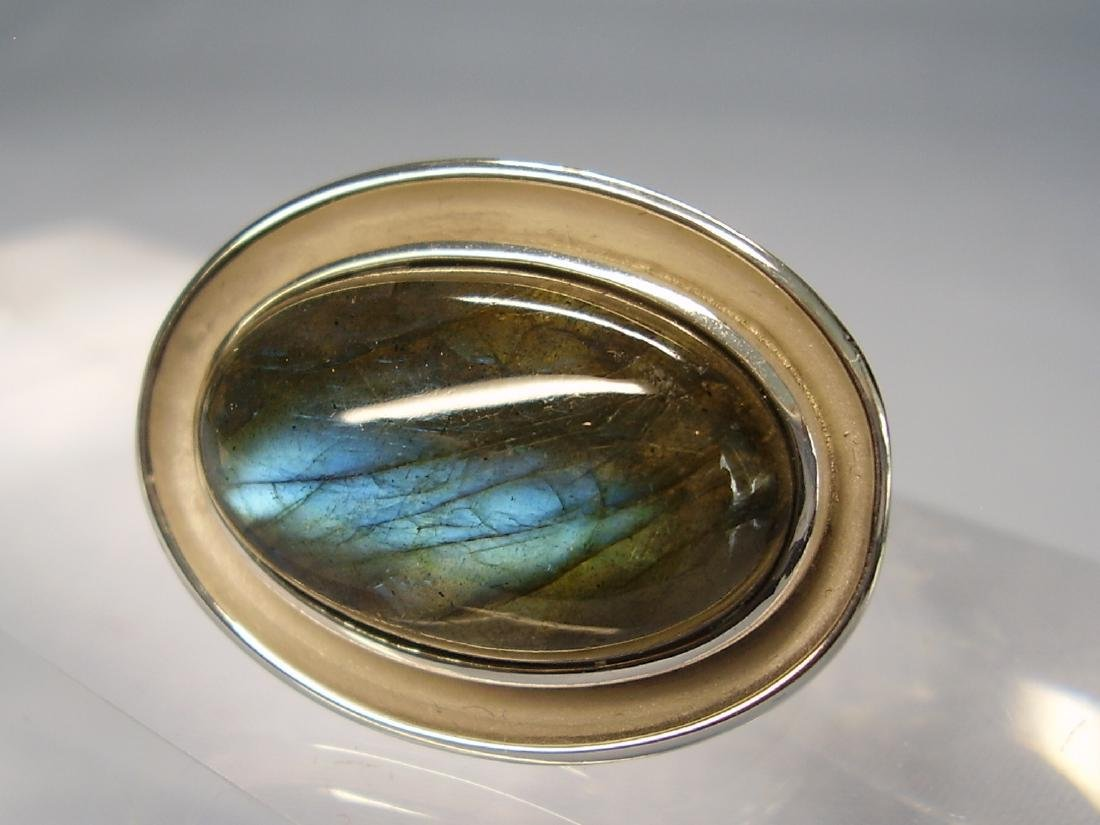 Silver Ring with Labradorit - 3