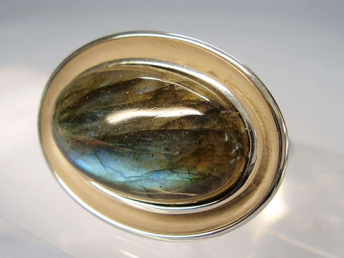 Silver Ring with Labradorit - 4