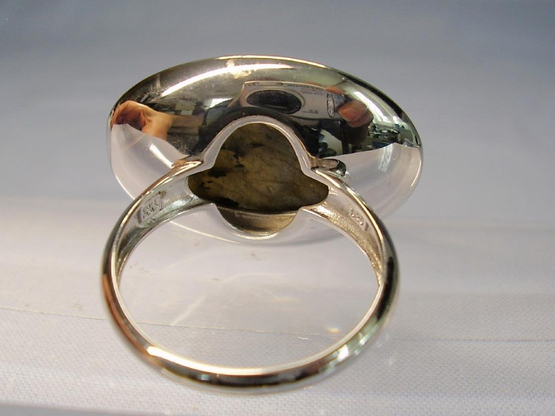 Silver Ring with Labradorit - 5