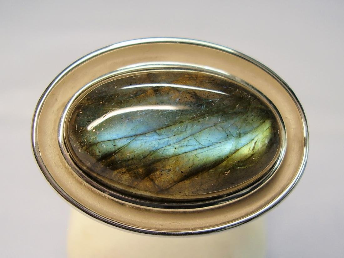 Silver Ring with Labradorit - 7